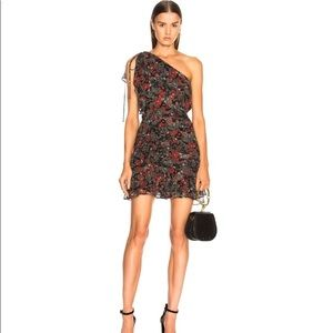 Veronica Beard one shoulder dress.